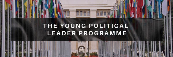 Work Experience young Political leader