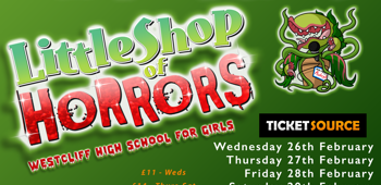 Little Shop of Horrors Tickets Now Available