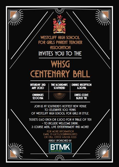 Centenary Ball with BTMK