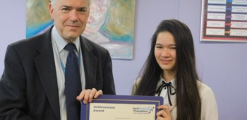 January 2020 Jack Petchey Winner!