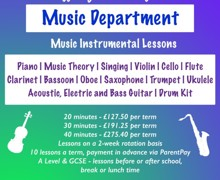 Instrument Lessons SUMMER