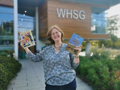 Judith Williams WHSG Book Launch