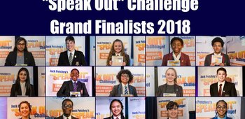 Year 10 student, Erin Stoner, reaches the Jack Petchey Speak Out Finals!