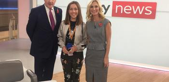 Work Experience- a day at Sky News