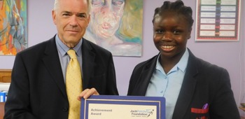 September 2019 Jack Petchey Winner!