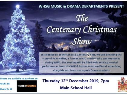 Centenary Show Poster